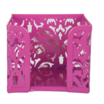 Бокс для бумаги металлический Buromax Barocco, розовый (BM.6216-10)