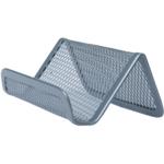 Подставка для визиток Buromax 95x80x45мм, металлическая, серебро (BM.6225-24)