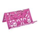 Подставка для визиток металлическая Buromax Barocco, розовый (BM.6226-10)