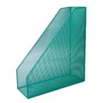 Лоток вертикальный Buromax 80x230x300 мм, металлический, зеленый (BM.6260-04)