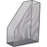 Лоток для бумаг вертикальный Buromaх, металлический, серебро (BM.6260-01)