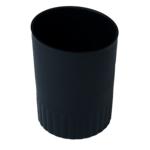 Стакан пластиковый для письменных принадлежностей Buromax Jobmax, черный (BM.6351-01)