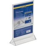 Информационная табличка двухсторонняя Buromax, прозрачная, 150 х 200 мм (BM.6414-00)