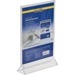 Информационная табличка двухсторонняя Buromax, прозрачная, 210 х 297 мм (BM.6415-00)