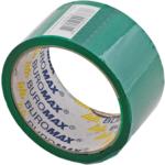 Скотч упаковочный Buromax, 48 мм, 35 м, 45 мкм, зеленый (BM.7007-04)