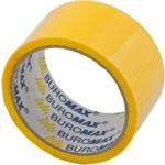 Скотч упаковочный Buromax, 48 мм, 35 м, 45 мкм, желтый (BM.7007-08)