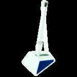 Ручка шариковая на подставке BuroMax, 0,7 мм, синий (BM.8143-01)
