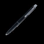 Ручка шариковая автоматическая Buromax COLOR, LOGO2U, 1 мм, черн.корпус, синие чернила (BM.8239-01)