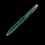 Ручка шариковая автоматическая Buromax COLOR, LOGO2U, 1 мм, зел.корпус, синие чернила (BM.8239-04)