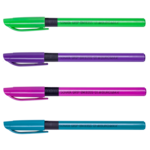 Ручка масляная Buromax SonataGrip, синяя (с рез. грипом) (BM.8355-01)