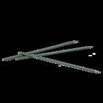 Стержень маслянный Buromax, для ручки BM.8352, 141 мм, черный (BM.8384-02)