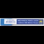 Стержни к механическому карандашу Buromax, HB, 0,5 мм, 12 ш (BM.8699)