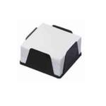 Бокс с белой бумагой Кип, 90х90 мм, 500 л, черный (BOKSBKIPчерн.)