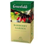 Чай черный Greenfield Barberry Garden 1,5гх25шт., в пакетиках (106006)