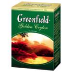 Чай черный Greenfield Golden Ceylon, 100г, листовой (106275)