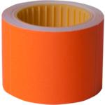 Ценник Buromax, 50*40мм, (100шт, 4м), прямоугольный, внешняя намотка, оранжевый (BM.282112-11)