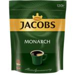 Кофе растворимый Jacobs Monarch, 120г, пакет (prpj.46525)