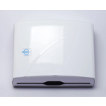 Диспенсер Solaris для бумажных Z-полотенец 275х95x225 мм белый (K.1)