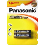 Батарейка Panasonic Alkaline Power LR03 AAA, 2 шт