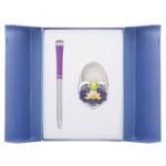 Набор подарочный Langres Fairy Tale (ручка шариковая и крючок для сумки) Фиолетовый (LS.122027-07)