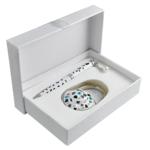 Набор подарочный Langres Elegance (ручка шариковая и крючок для сумки) Белый (LS.122029-12)