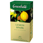 Чай черный Greenfield Lemon Spark 1,5гх25шт., в пакетиках (106005)