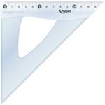 Угольник Maped Essentials, 45гр/210мм (гипотенуза), пластик, прозрачный (MP.146123)
