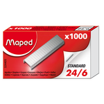 Скобы для степлера №24/6 Maped, 1000 шт (MP.324405)