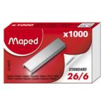 Скобы для степлера №26/6 Maped, 1000 шт., (MP.324605)