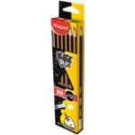 Карандаш графитовый Maped Black Peps, 2B, без ластика (MP.851722)