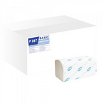 Полотенца Tischa Papier Basic V-образные бумажные целлюлозные 160 шт (P097)