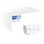 Полотенца Tischa Papier Basic V-образные бумажные целлюлозные 150 л (P098)