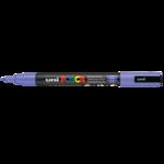 Маркер для всех типов поверхности Uni Posca, 0,9-1,3 мм, лиловый (PC-3M.Lilac)