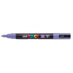 Маркер для всех типов поверхности Uni Posca, 0,9-1,3 мм, фиолетовый (PC-3M.Violet)