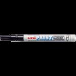 Маркер для всех типов поверхности Uni Paint 0,8-1,2 мм Черный (PX-21.Black)