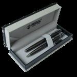 Комплект ручек Regal (роллер + шариковая) в подарочном футляре типа Р, сталь (R5031611.P.BR)