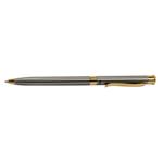 Ручка шариковая Regal с корпусом из нержавеющей стали в бархатном чехле Синяя (R68007.B)