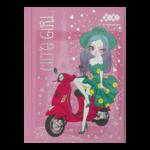 Блокнот ZiBi Cute Girl A6 в клетку на 64 листа Розовый (ZB.12715-10)