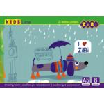 Альбом для рисования ZiBi ZB.1418, А5, скоба, 8 листов
