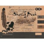 Скетчбук ZiBi Art Line А5, 40 листов, пружина, кремовый блок 100 г/м2 (ZB.1488)