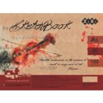 Скетчбук ZiBi Art Line А5, 40 листов, пружина, кремовый блок 100 г/м2 (ZB.1490)