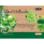 Скетчбук ZiBi Art Line А5, 40 листов, пружина, кремовый блок 100 г/м2 (ZB.1491)