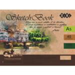 Скетчбук ZiBi Art Line А5, 40 листов, пружина, белый блок 100 г/м2 (ZB.1492)