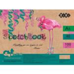 Скетчбук ZiBi Art Line А5, 40 листов, пружина, белый блок 100 г/м2 (ZB.1493)