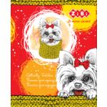 Папка для труда ZiBi Kids Line Lovely Dog, картонная на резинке, А4+ 300х212х28мм (ZB.14931)