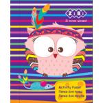 Папка для труда ZiBi Kids Line Friendly Owl, картонная на резинке, А4+ 300х212х28мм (ZB.14932)