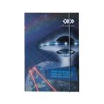 Папка для тетрадей ZiBi Cosmo, картонная на резинке, B5+ 175х245х25мм (ZB.14966)