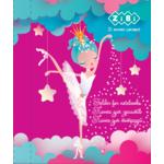Папка для тетрадей ZiBi Princess, картонная на резинке, B5+ 175х245х25мм (ZB.14981)