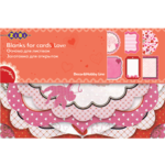Заготовка для открыток ZiBi Love 10.2 х 15.3см (ZB.18200-AF)