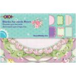 Заготовка для открыток ZiBi Roses 10.2 х 15.3см (ZB.18202-AF)